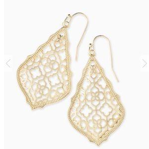 Addie Gold Drop Earrings